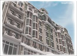 Архитектурное проектирование. Многоэтажные здания. Эскизный проект жилого дома. Фото и картинки.