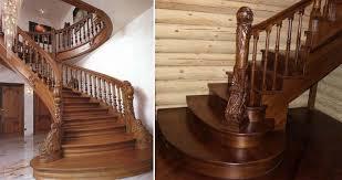 Особенности дубовой лестницы