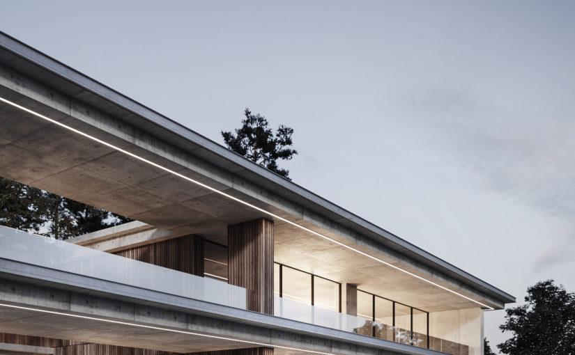 Естественное освещение и планирование архитектурного пространства в Modern house от Dezest Design